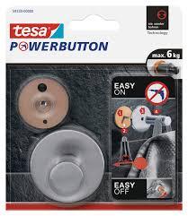 tesa powerbutton handtuchhalter zum ankleben ohne bohren classic haken rund