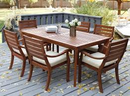 deck patio furniture outdoor umbrella table solid hardwood