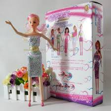 Cheap Cute Novel DIY Barbie Doll With Extra Outfit Sale Online