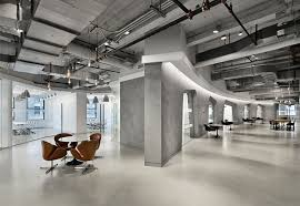 Smoothly Curved Galleria Office Spaces