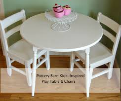 Pottery Barn Desks Used by Awesome Kid Play Table And Chairs 18 About Remodel Kids Desk And