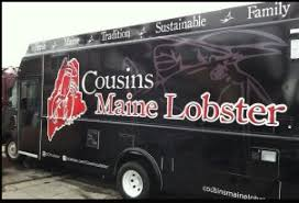 100 Cousins Maine Lobster Truck Menu Mission Viejo CA Food S Crepes Bisque And Spinach