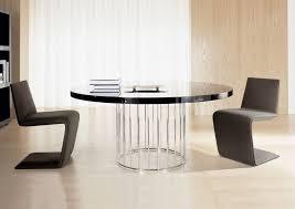 Black Modern Dining Table Small Room Designer Round