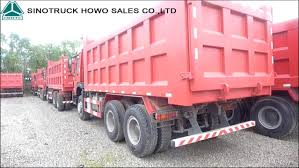 100 Pink Dump Truck 336hp 371hp 6x4 Tip Er Sinotruk Howo 10 Wheeler Truk Tipper