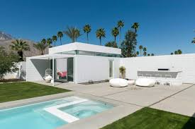 100 Palm Springs Architects Midcentury Modern White House In California