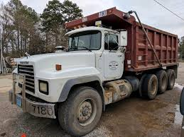 2002 Mack RD688S Dump Truck For Sale | Montgomery, AL | 9350073 ... Home I20 Trucks Used 2007 Mack Cv713 Triaxle Steel Dump Truck For Sale In Al 2644 1999 Kenworth W900 Tri Axle Peterbilt Dump In Alabama For Sale Used On Trucks Ks 2013 Kenworth T800 Truck 29375 Miles Morris Il 2010 Intertional Durastar 4300 Dump Truck Item Dc5726 Together With Cat Or 1 64 Mack Buyllsearch