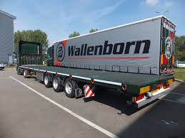 100 Truck Bed Trailers Wallenborn One Of Europes Fastest Growing Transport Groups Outsize