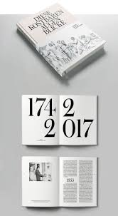 100 Magazine Design Inspiration HERBURG WEILAND Simple Minimal Layout Ideas Layout