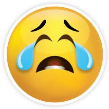 Sad Face Emoji Clipart