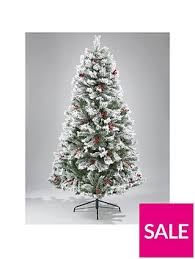 7ft Christmas Tree Uk by Bavarian Pine Christmas Tree With Snow 7ft Very Co Uk