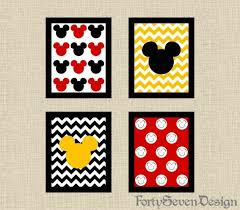 Mickey Mouse Bathroom Ideas by Mickey Mouse Bathroom Art U2013 Home Design And Decorating