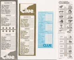 This Is An ESL Game Based On The Board Clue Also
