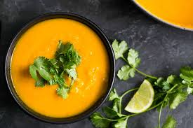 Jamaican Pumpkin Soup Vegan by Roasted Kabocha Squash Soup Recipe Simplyrecipes Com