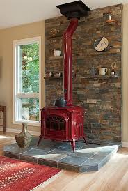 Wood Burning Stove Hearth Ideas