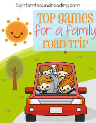 Car Games For Trips Free Board