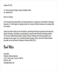Experience Letter Templates 7 Free Sample Example Format