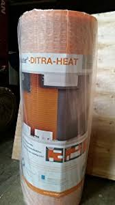 Schluter Heated Floor Manual by Ditra Heat Uncoupling Membrane Dh5ma Schluter Amazon Com