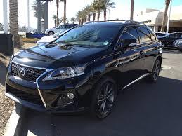 Lexus RX350 Black with black rims My dream vehicle