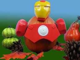 Pumpkin Push Ins by Halloween Disney Iron Man Turn To Disney Iron Man Pumpkin Push Ins