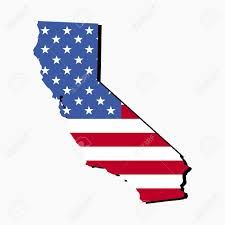 1300x1300 Us Map Of California State Clipart