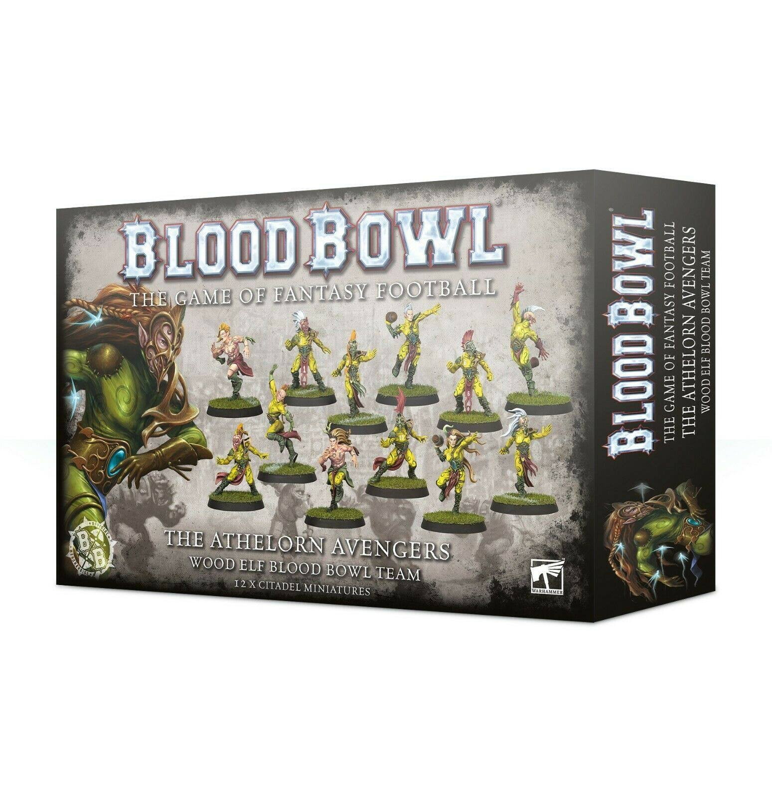 Blood Bowl Athelorn Avengers Miniature