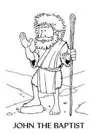 John The Baptist Coloring Pages 14 Cartoon Of Page