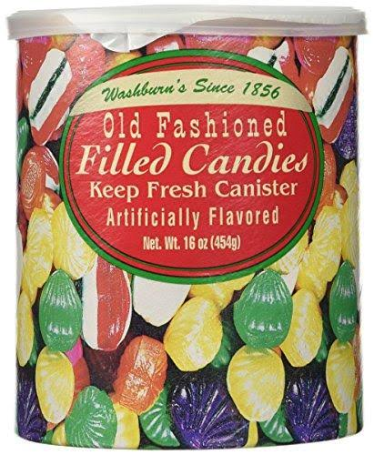 Washburn's Old Fashioned Hard Filled Candy - 454g