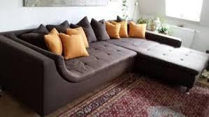 sofa landschaft big sofa braun schlafsofa in hessen
