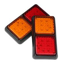 Tail Lights & Brake Lights - Pair 12V 72LEDs Tail Lights Red Amber ... 2 Led 4 Round Truck Trailer Brake Stop Turn Tail Lights With Red 2007 Ford F150 Upgrades Euro Headlights And Truckin 6 Oval 10 Diode Light Wgrommet Plugpigtail Amazoncom Toyota Pick Up 41988 Lens Lenses Signal Tailgate 196772 Gm Billet Digitails Close Of Tail Lights On A Fire Truck Stock Photo 3956538 Alamy New 2x Led Indicator 24v Waterproof Spyder 042012 Chevy Colorado Hilux Pickup 4x2 4x4 89 95 Clear Red 42008 Recon Smoked 264178bk W Builtin Flange 512