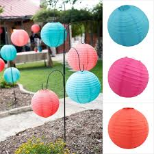 8 Inch 20 Cm Round Paper Lanterns Lamp Shade Wedding Party Christmas Decorations Mulit Color Option Diversiform Gift Craft DIY In From Home