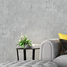 us 25 99 40 wohnkultur einfarbig tapete geprägt beton wand grau tapete 3d tapete foto tapete wohnzimmer wand volumen tapeten aliexpress