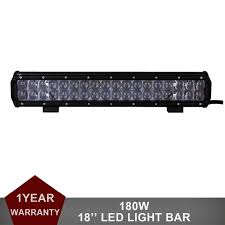 Z&L 18 Inch 180W LED Work Light Bar for f Road Indicators Work