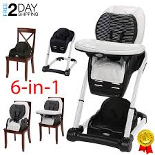 Graco Blossom 6-in-1 Convertible High Chair Seating System, Studio ... Graco High Chair In Spherds Bush Ldon Gumtree Ingenuity Trio 3in1 High Chair Avondale Ptradestorecom Baby With Washable Food Tray As Good New Qatar Best 2019 For Sale Reviews Comparison Amazoncom Hoomall Safe Fast Table Load Design Fold Swift Lx Highchair Basin Cocoon Slate Oribel Chicco Caddy Hookon Red Costway 3 1 Convertible Seat 12 Best Highchairs The Ipdent 15 Chairs