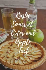 A Simple Rustic Apple Pie Pepped Up With Glug Of Somerset
