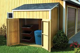 project plan 90031 lean to shed