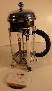 Starbucks Bodum 8 Cup French Press Coffee Maker Glass Stainless Steel Booklet