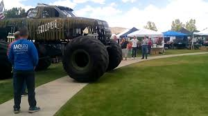 Biggest Monster Truck Ever - YouTube Rap Attack Hero Card Monster Truck Thrdown Store The 381 Best Trucks Images On Pinterest Jam 2013 Photos Allmonstercom Amazoncom Hot Wheels Jam 124 Scale Vehicle Pure Insanity Mega Youtube Jual Loose Di Lapak Dark 164 Diecast Metal Rare Safe Auto Minimizer Flying Stock Photo 2444557 Wrecking Crew Diecast Monstertruckthrdowncom Online Home Of 1 Madwhips