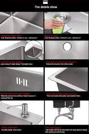 Stainless Steel Sink Grid Without Hole by Garden Enlarge Deep Bowl 316 Kitchen Stainless Steel Sink Buy
