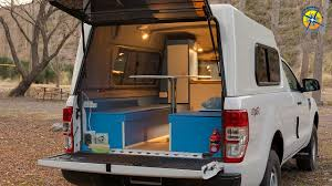 100 Camper Truck Bed Ford Ranger T6 2015 Small Pickup Truck Camper For Two People Inside Tour Description