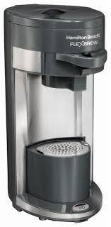 Hamilton Beach FlexBrew Single Serve Coffee Maker Black 49963