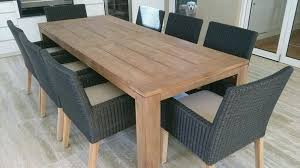 Teak Dining Room Chairs Table And Chair Wicker Set Kijiji