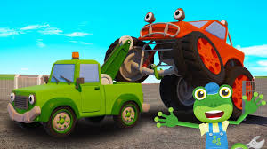 100 Kids Monster Truck Videos SPIDERS Educational Video For
