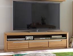 lowboard eiche massiv bianco 165x43x46 cm tv möbel tv