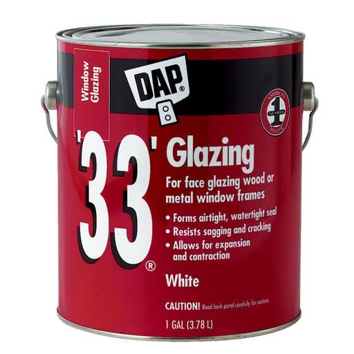 DAP 33 Ready-to-Use Window Glazing - White