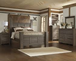 Ashley Bostwick Shoals Dresser by Juararo 5 Pc Bedroom Dresser Mirror U0026 Queen Poster Bed B251