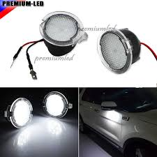2x for ford led side mirror puddle light f 150 mirror light