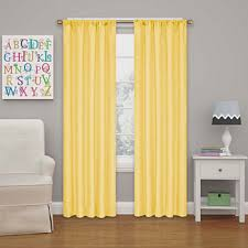 blackout yellow curtains drapes for window jcpenney