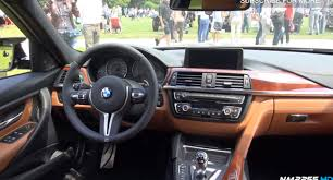 VIDEO Black M3 with BMW Individual Amaro Brown Interior