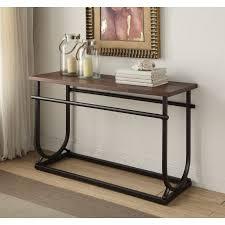 Walmart Metal Sofa Table by 1perfectchoice Debbie Hallway Entryway Sofa Console Table Cherry