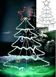 Spiral Tree Outdoor Decorations Set Christmas Trees Indoor Led 7 Yard Decoration Lighted Green